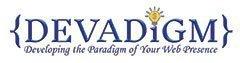 Logo for Devadigm, a Cape Cod Web Developer and WordPress training company