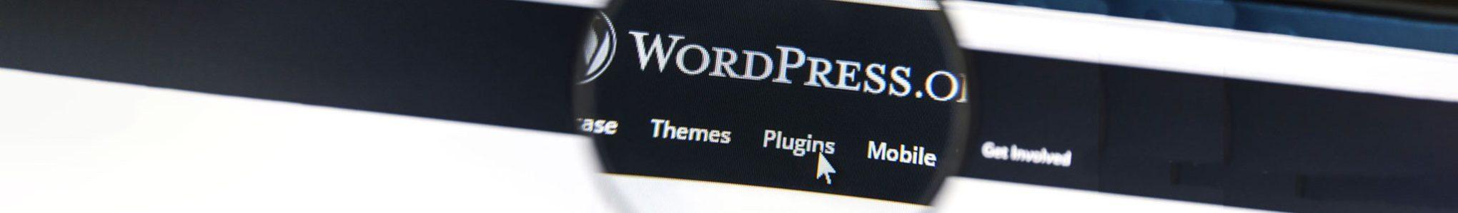Navigation menu from wordpress.org
