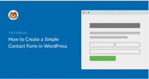 How to create a contact form using WPForms